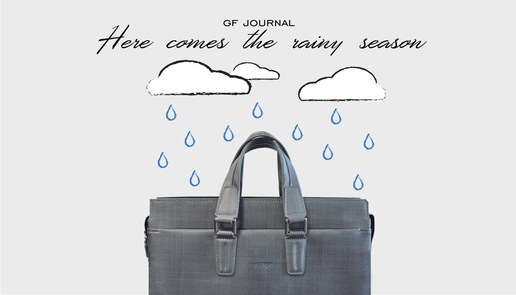 Here comes the rainy season กระเป๋าหนังใบโปรดโดนน้ำ ทำอย่างไร?