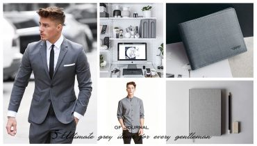5 Ultimate grey items for every gentleman 5 สิ่งที่ควรเลือกเป็นสีเทา