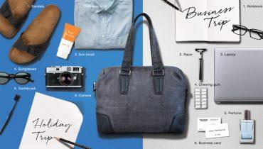 Pack your trip in your workbag ของที่ขาดไม่ได้ในการเดินทาง