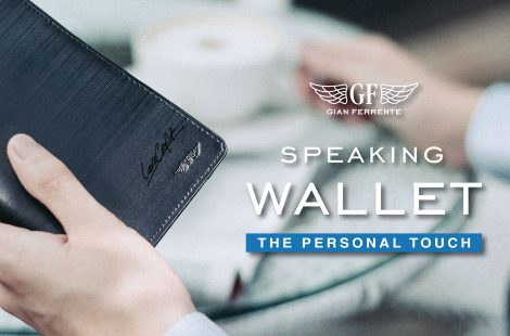 "Make your own ""Speaking Wallet"", A special service from Gian Ferrente"""