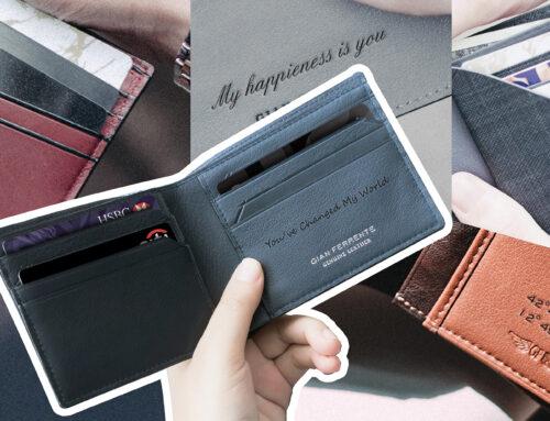 5 ไอเดีย สลักกระเป๋าสตางค์ให้มีชิ้นเดียวในโลก เพื่อคนพิเศษสำหรับวาเลนไทน์นี้