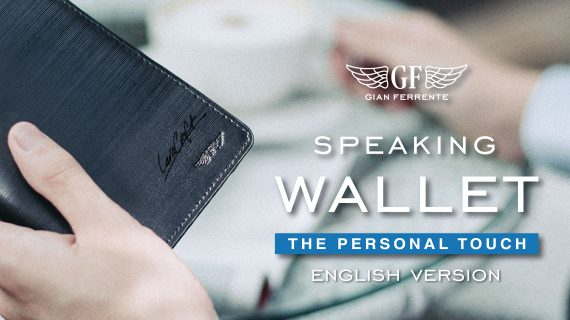 "Make your own ""Speaking Wallet"", A special service from Gian Ferrente (ENGLISH VERSION)"