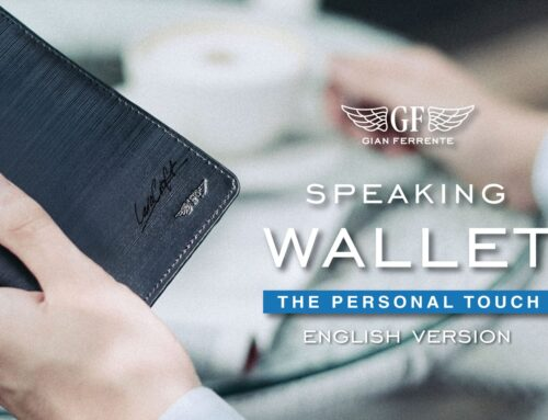 """Make your own """"Speaking Wallet"""", A special service from Gian Ferrente (ENGLISH VERSION)"""