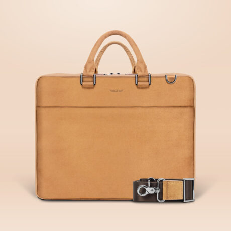 Alfonso Corporate Laptop Bag Brown Front