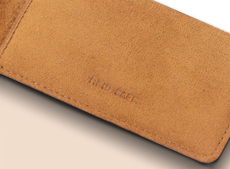 Alfonso Slim Wallet Brown RFID Safe
