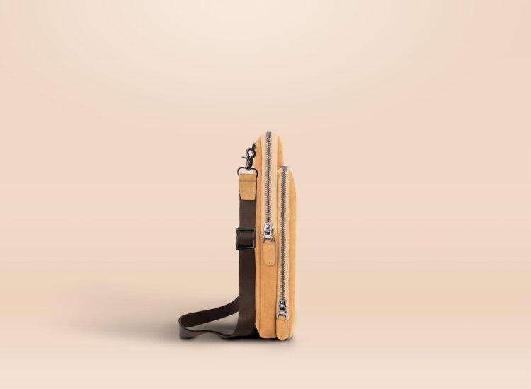 Alfonso Universal Tablet Bag Brown Side