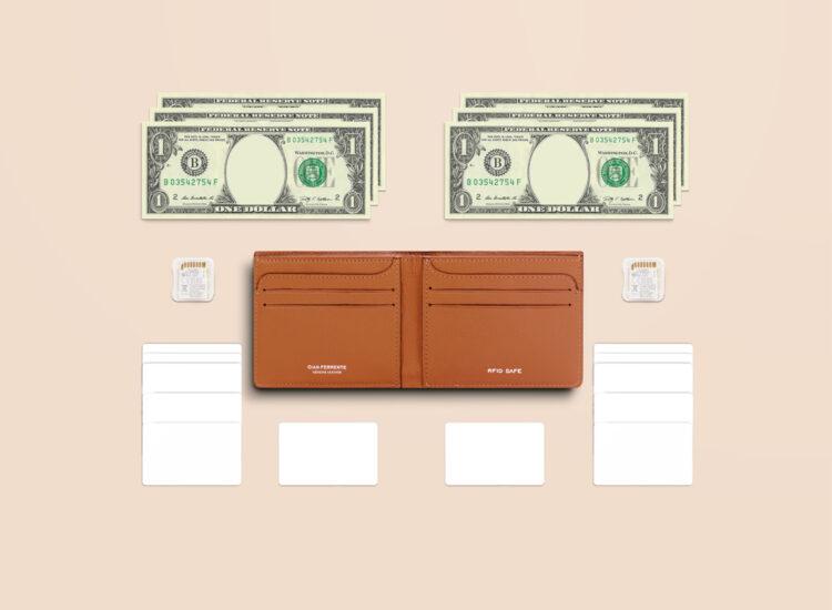 Berto Slim Wallet Brown Functionality