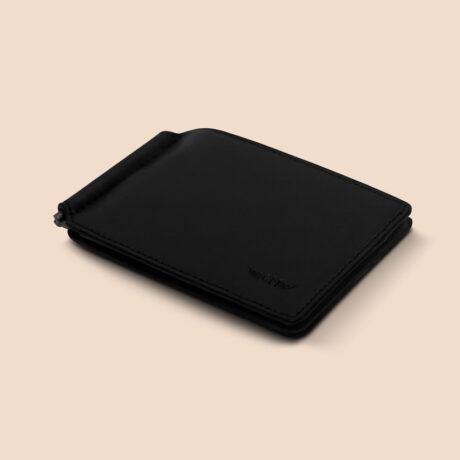 Alfonso Slim Clip Black Front