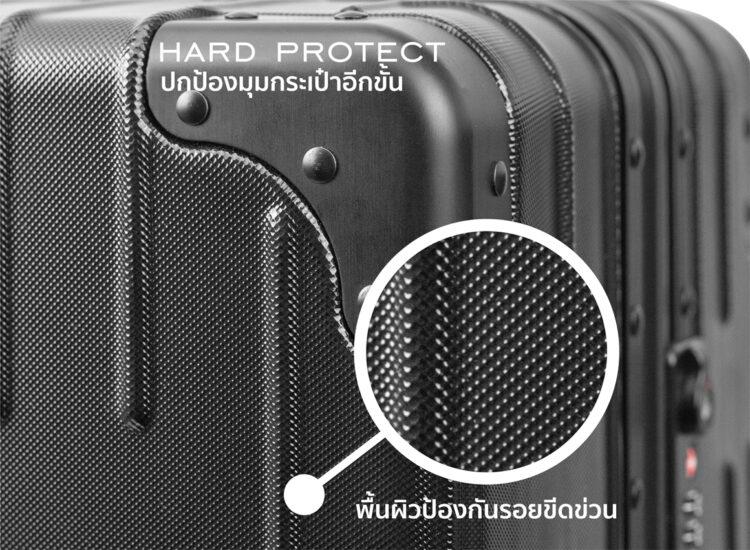 777879 Luggage Travel TSA Approved Black Protection