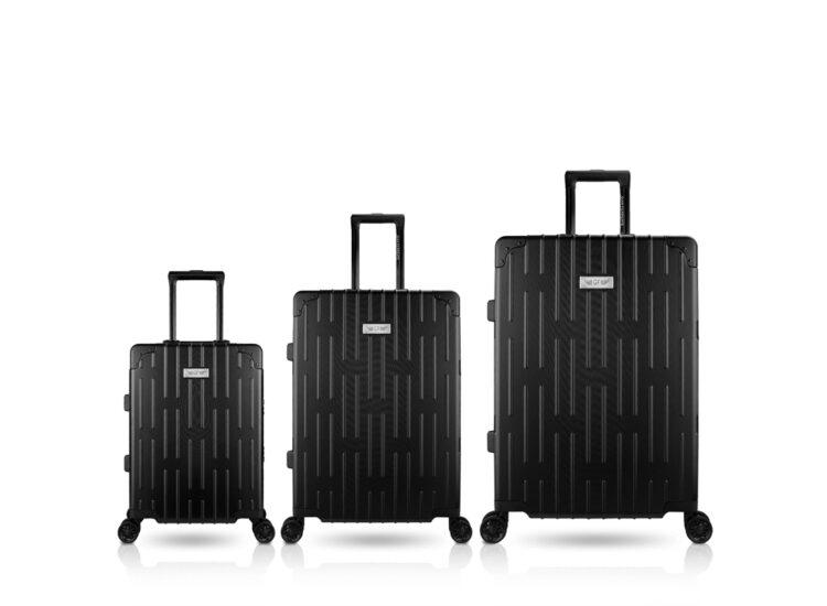 777879 Luggage Travel TSA Approved Black Set