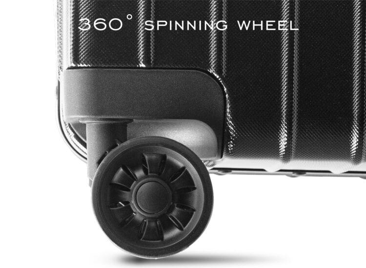 777879 Luggage Travel TSA Approved Black Wheel