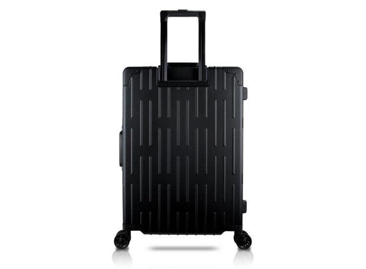 78 Luggage Travel TSA Approved Black Back