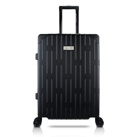 78 Luggage Travel TSA Approved Black Front