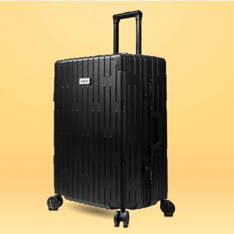 78 Luggage Travel TSA Approved Black Per