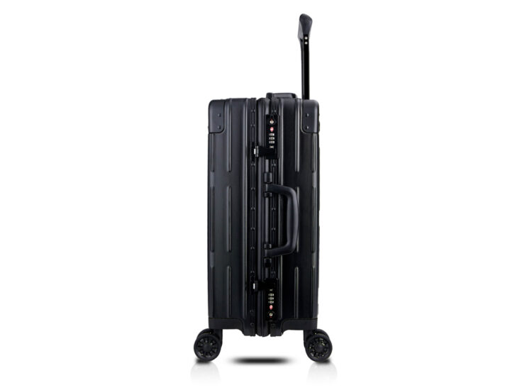 78 Luggage Travel TSA Approved Black Side