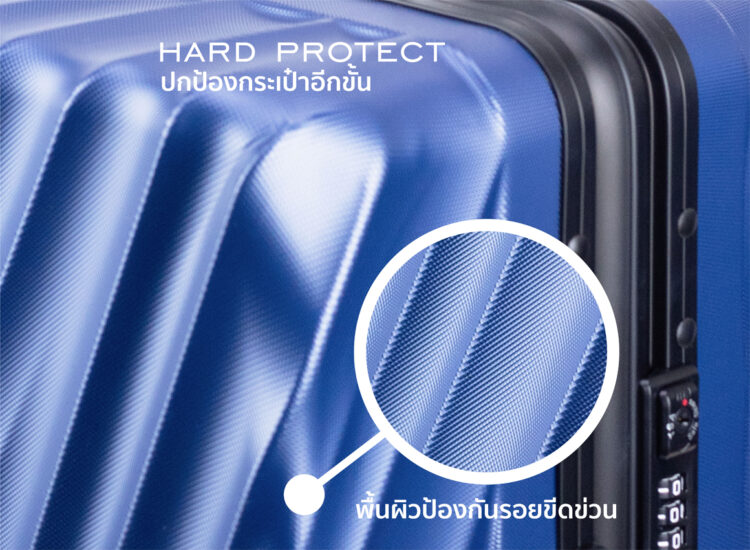 808182 Luggage Travel TSA Approved Blue Protection