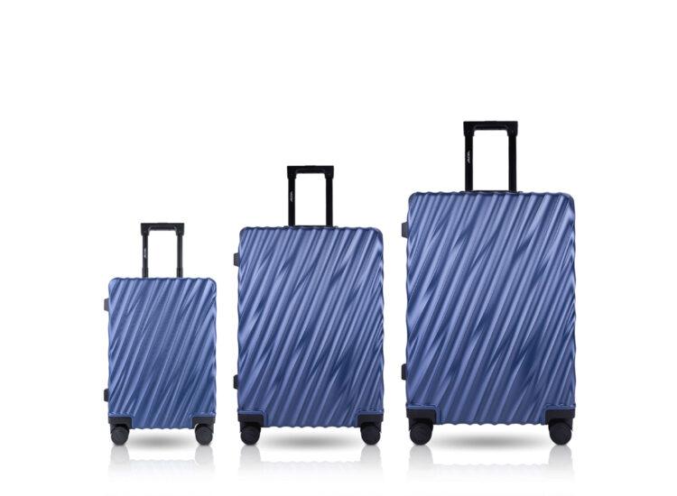 808182 Luggage Travel TSA Approved Blue Set