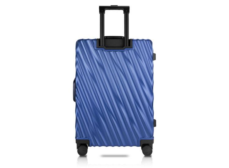 81 Luggage Travel TSA Approved Blue Back