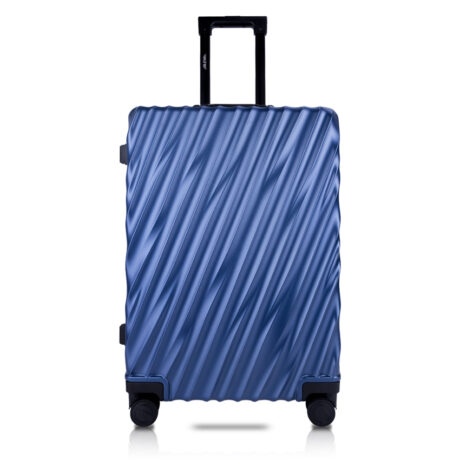 81 Luggage Travel TSA Approved Blue Front
