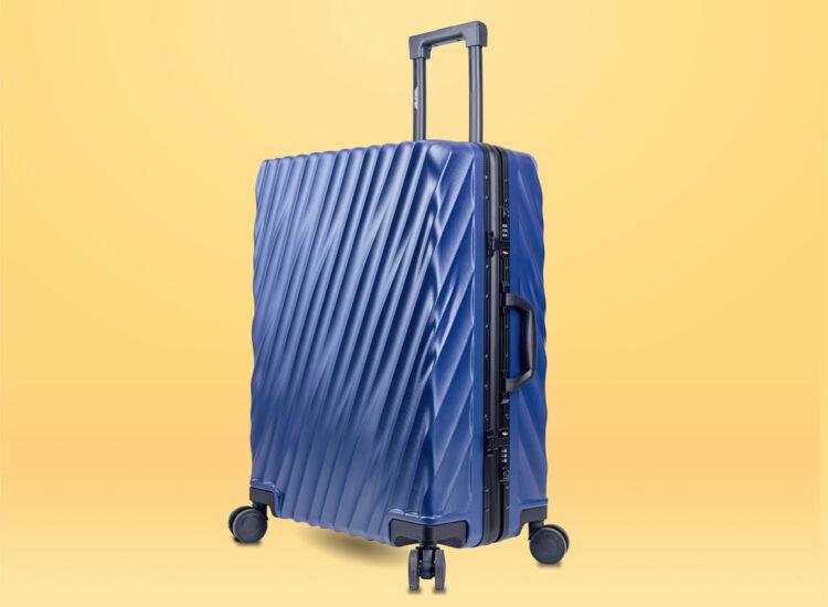 81 Luggage Travel TSA Approved Blue Per