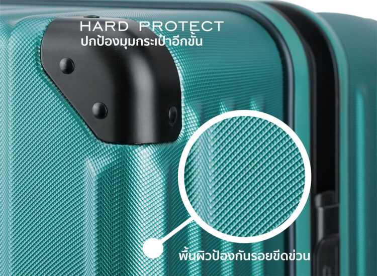 838485 Luggage Travel TSA Approved Green Protection