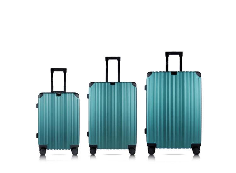 838485 Luggage Travel TSA Approved Green Set