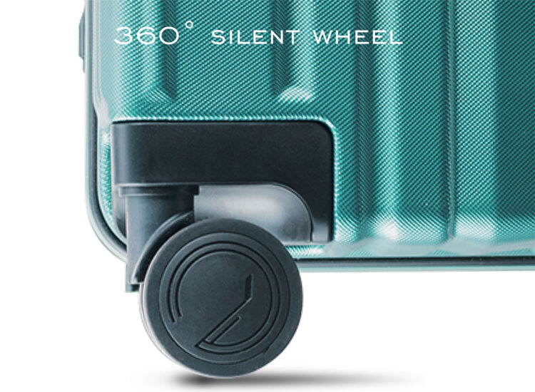 838485 Luggage Travel TSA Approved Green Wheel
