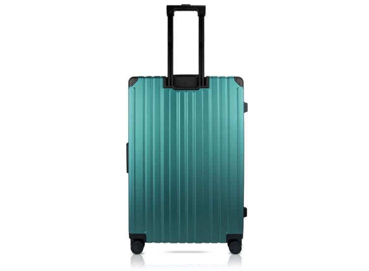 84 Luggage Travel TSA Approved Green Back