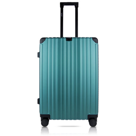 84 Luggage Travel TSA Approved Green Front