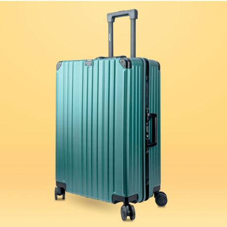 84 Luggage Travel TSA Approved Green Per