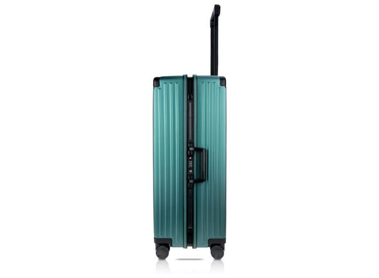 84 Luggage Travel TSA Approved Green Side