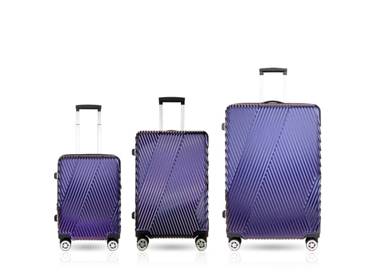868788 Luggage Travel TSA Approved Navy Set