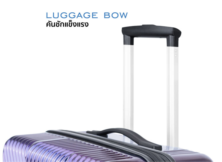 868788 Luggage Travel TSA Approved Navy Trolley