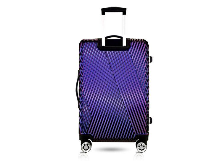 87 Luggage Travel TSA Approved Navy Back