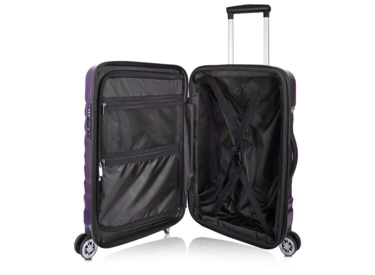 87 Luggage Travel TSA Approved Navy Inside