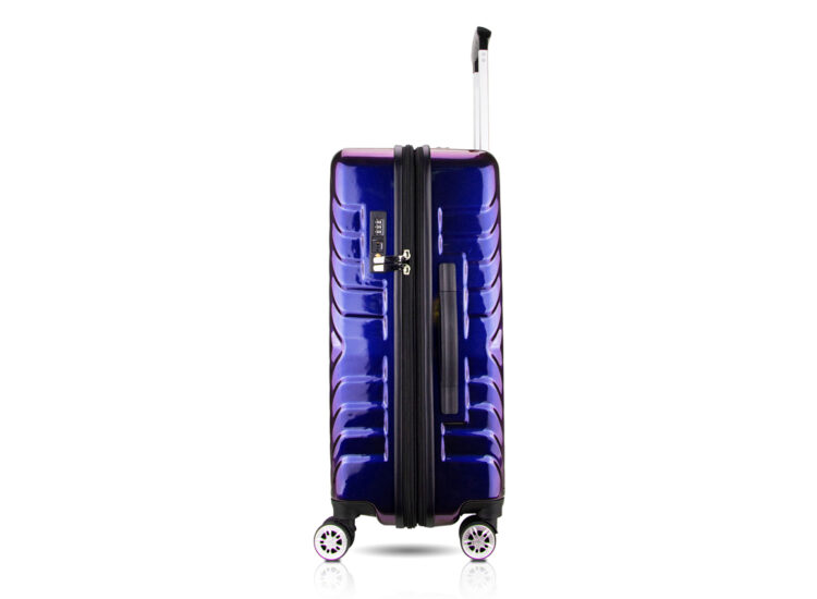87 Luggage Travel TSA Approved Navy Side