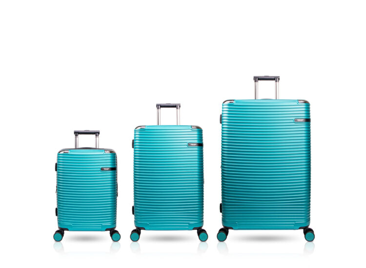 899091 Luggage Travel TSA Approved Green Set