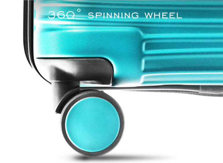899091 Luggage Travel TSA Approved Green Wheel