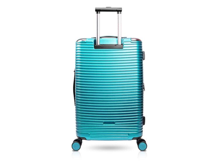 90 Luggage Travel TSA Approved Green Back