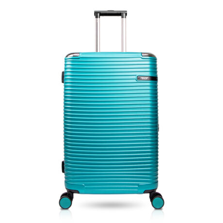 90 Luggage Travel TSA Approved Green Front