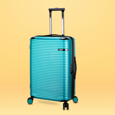 90 Luggage Travel TSA Approved Green Per