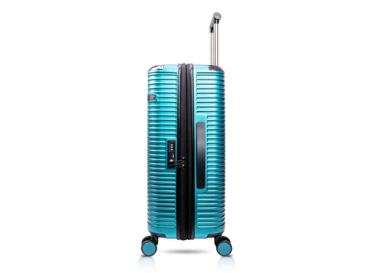 90 Luggage Travel TSA Approved Green Side