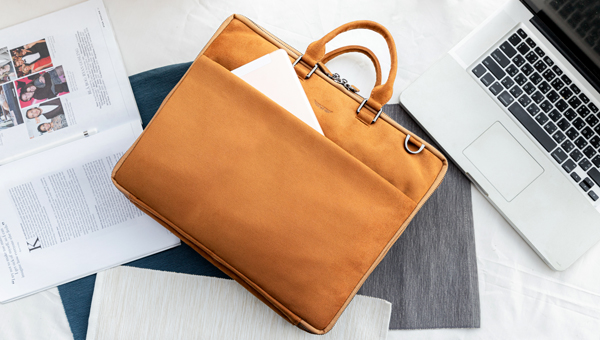 Corporate Laptop Bag Styling