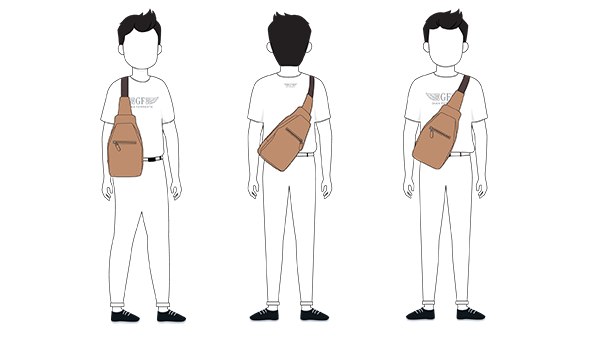 How To Wear Urban Sling Bag