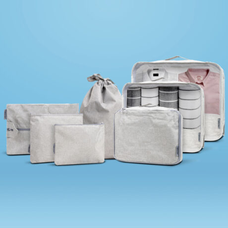 Essential Luggage Set Packing Cubes Organizer For Travel