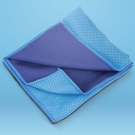 Essential Travel Cooling Towel Blue For Neck And Face