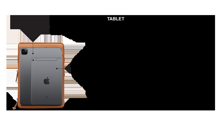Universal Tablet iPad Bag Comparision Chart