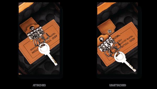 Urban Sling Bag Removable Key Ring