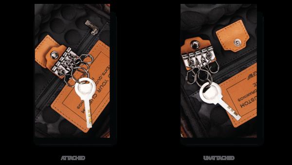 Day Trip Crossbody Bag Removable Key Ring
