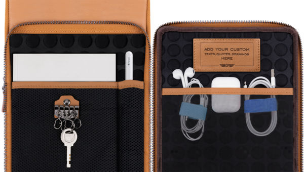 Universal Tablet iPad Bag Inside Compartment